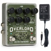 Image of Electro-Harmonix Operation Overlord Allied Overdrive Pedal with Power Supply