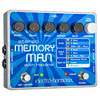 Electro-Harmonix Stereo Memory Man w/ Hazarai Delay Looper Pedal w/ Power Supply