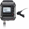 Image of Zoom F1 Field Recorder + Lavalier Microphone Package (ZF1LP)