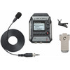 Zoom F1 Field Recorder + Lavalier Microphone Package