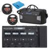 Zoom G5n Multi-Effects Guitar Processor & Soft Carrying Case, Cloth & Cables