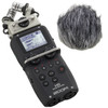 Zoom H5 Recorder with Interchangeable Mic System & WSU-1 Windscreen