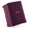 Bose S1 Pro PA System w/ Speaker Stand & Play-Through Cover - Orchid Red