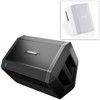 Image of Bose S1 Pro Multi-Position PA System with Play-Through Cover - Nue Artic White
