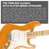 Fender Player Stratocaster - Maple Fingerboard - Capri Orange, Player Stratocaster, Maple Fingerboard, Capri Orange, Full