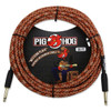 Pig Hog PCH20CP Western Plaid Instrument Cable - 20ft