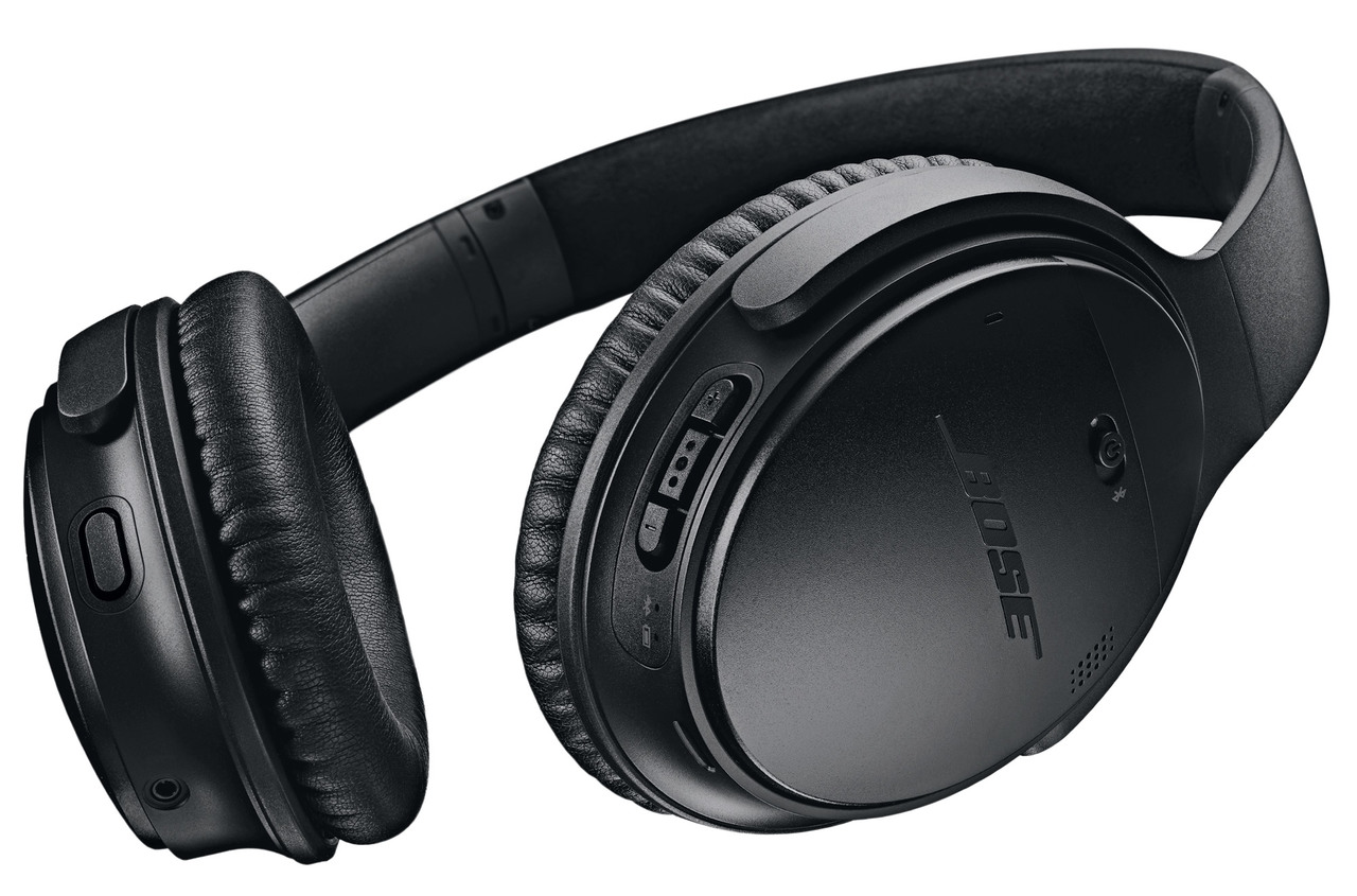 730bd6ab695 ... Bose QuietComfort 35 Wireless Headphones II with Car Charger - Black ...