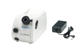 Schott Kl 1600 LED Fiber optic Light Source Illuminator for stereo Microscopy