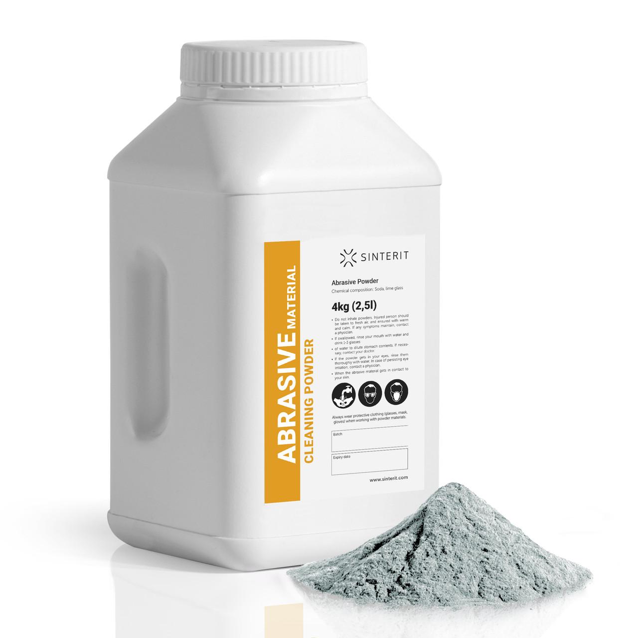 Abrasive material for the Sandblaster