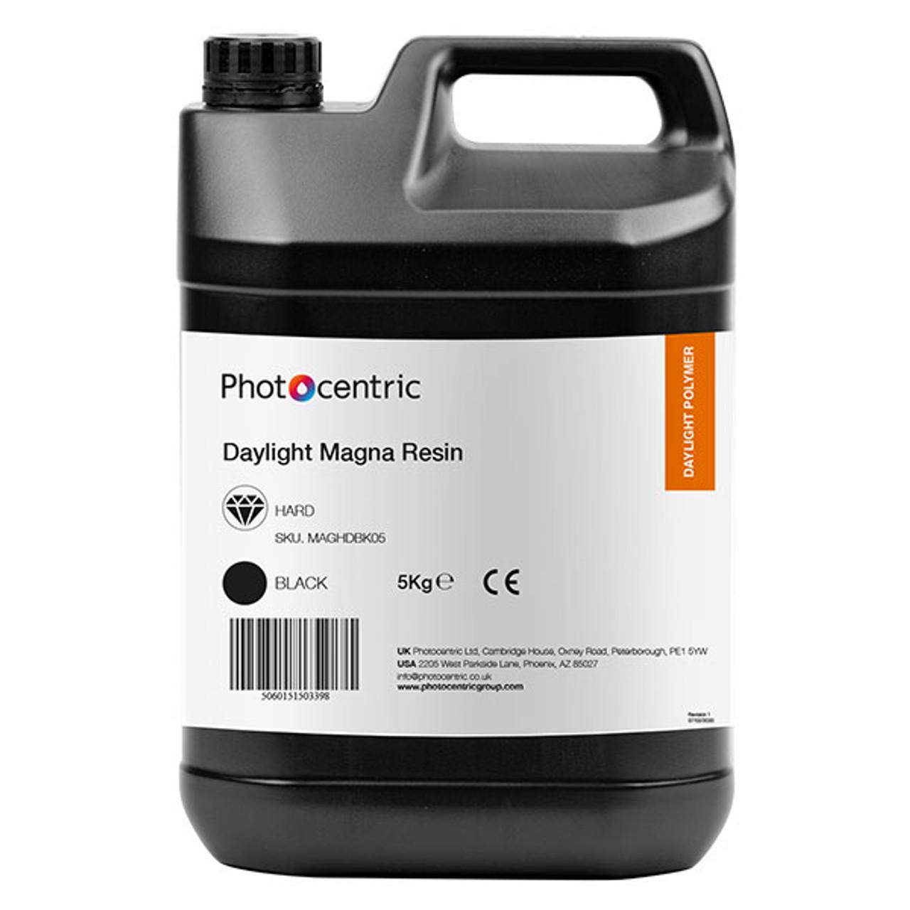 5kg Magna Hard Resin Black