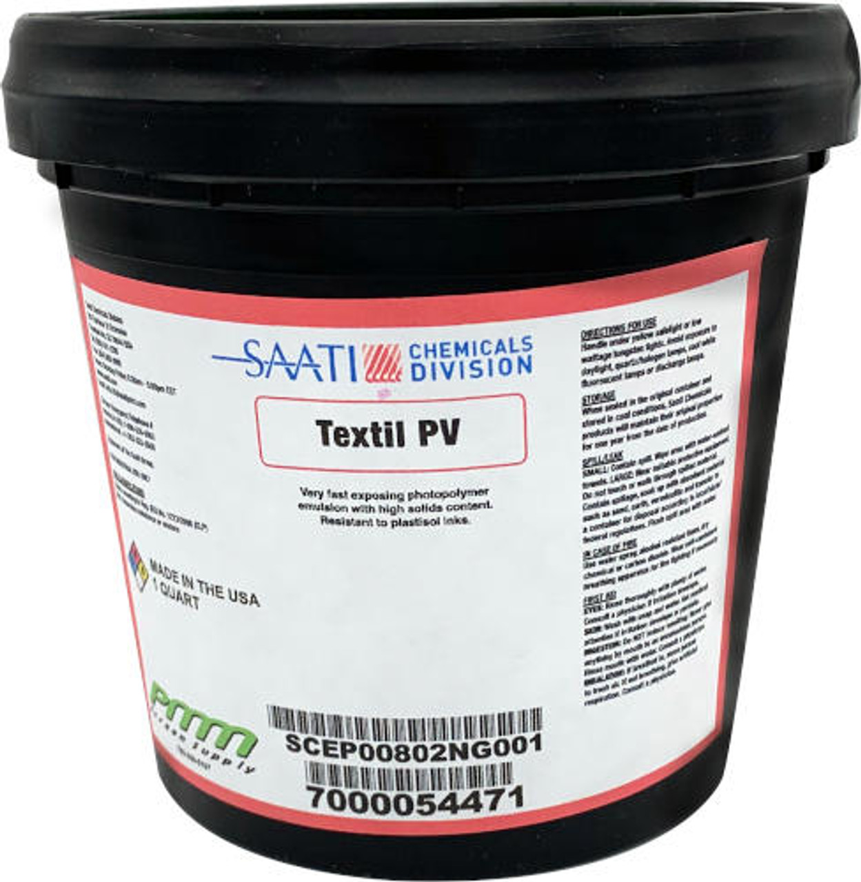 Saati Textil PV emulsion