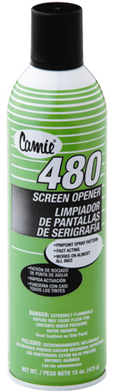 Camie 480 Screen Opener Spray