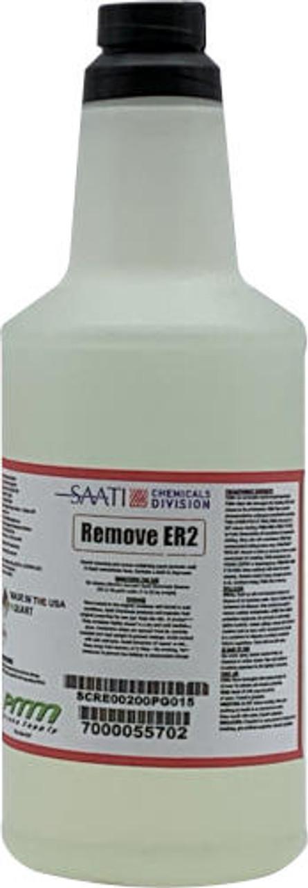 Saati Remove ER2 Stencil Remover, Quart