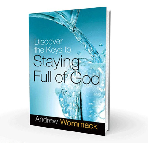 Book - Discover The Keys To Staying Full Of God