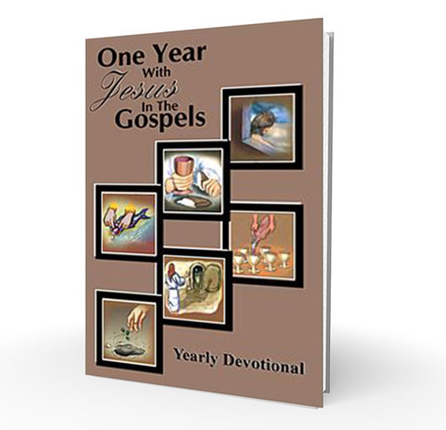 Book - One Year with Jesus in the Gospels Yearly Devotional