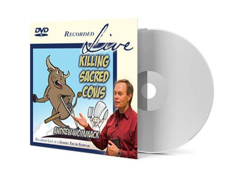 DVD LIVE Album - Killing Sacred Cows