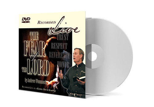 DVD LIVE Album - The Fear Of The Lord