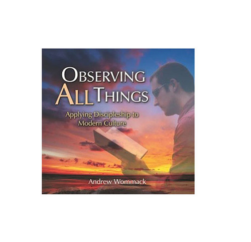 Booklet: Observing All Things