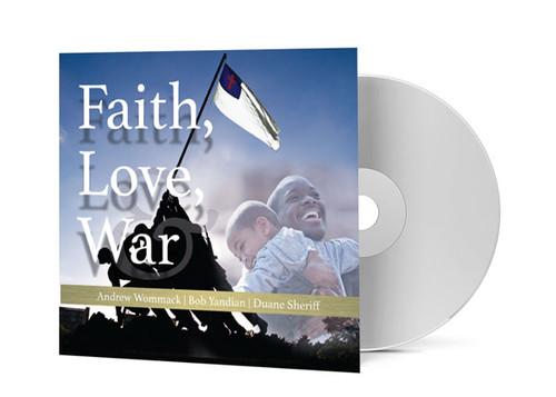 CD Album - Faith, Love and War
