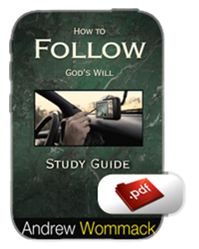 Study Guide E-Book - How to Follow God's Will (PDF)