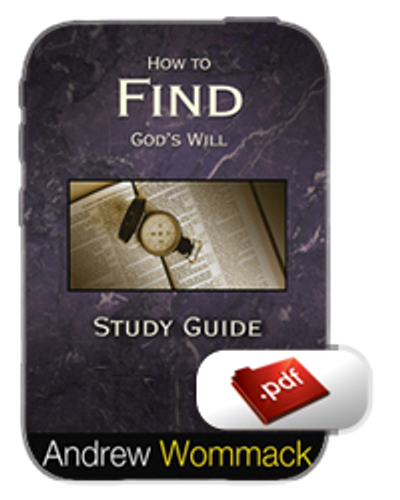 Study Guide E-Book - How to Find God's Will (PDF)