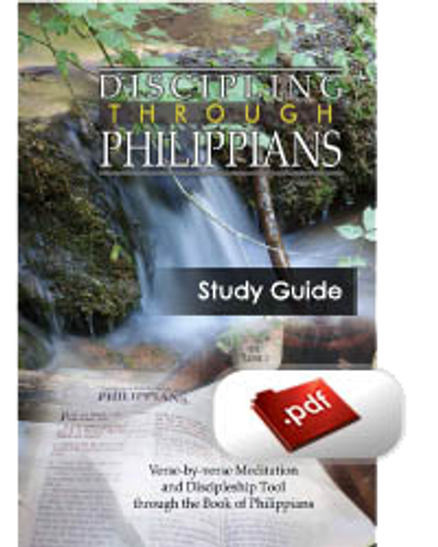 Study Guide E-Book - Discipling through Philippians (PDF)