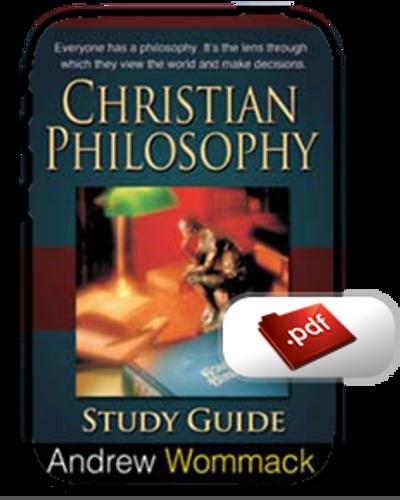 Study Guide E-Book - Christian Philosophy (PDF)