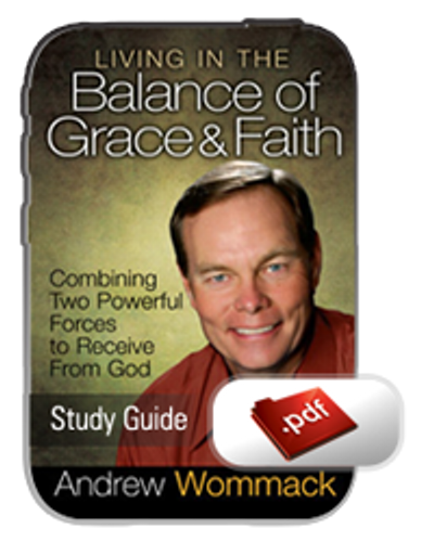 Study Guide E-Book - Living in the Balance of Grace & Faith (PDF)