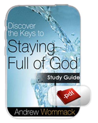 Study Guide E-Book - Discover the Keys to Staying Full of God (PDF)
