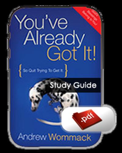 Study Guide E-Book - You've Already Got It (PDF)