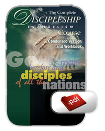 Study Guide E-Book - Discipleship Evangelism (PDF)