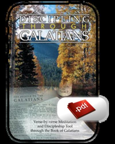 Study Guide E-Book -  Discipling through Galatians (PDF)