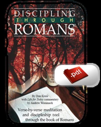 Study Guide E-Book - Discipling through Romans (PDF)