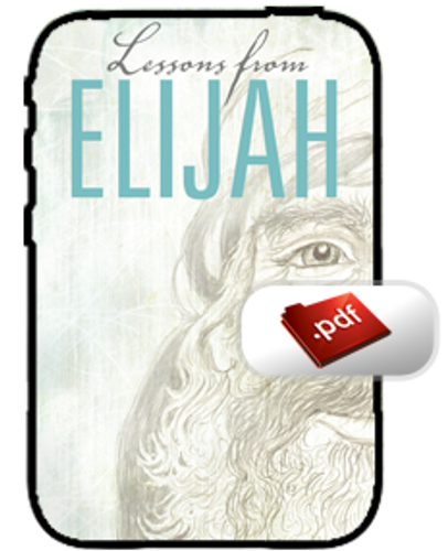 E-Book - Lessons from Elijah (PDF)