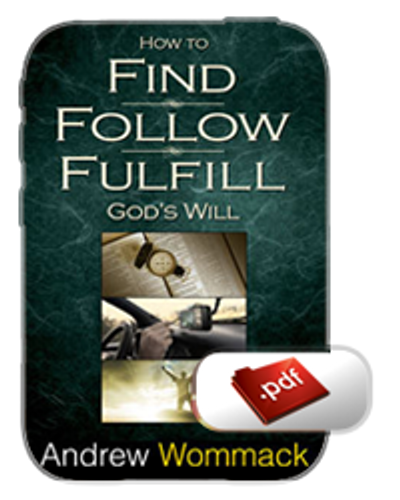 E-Book - How to Find, Follow, Fulfil God's Will (PDF)