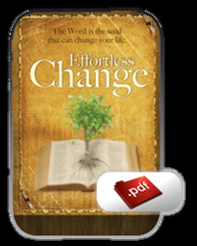 E-Book - Effortless Change (PDF)