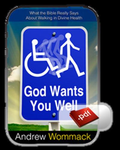 E-Book - God Wants You Well (PDF)
