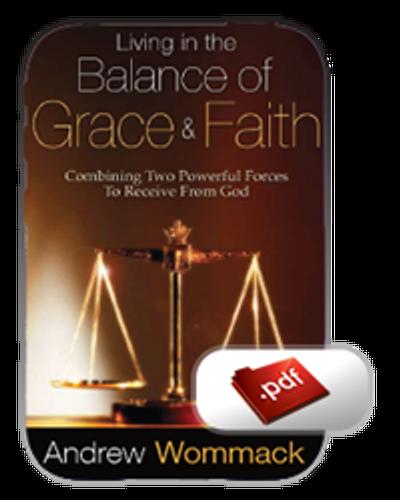 E-Book - Living in the Balance of Grace & Faith (PDF)