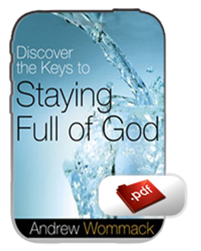E-Book - Discover the Keys to Staying Full of God (PDF)