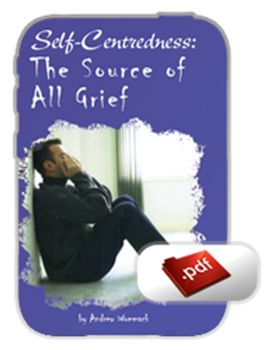E-Book - Self-Centeredness: The Source of all Grief (PDF)
