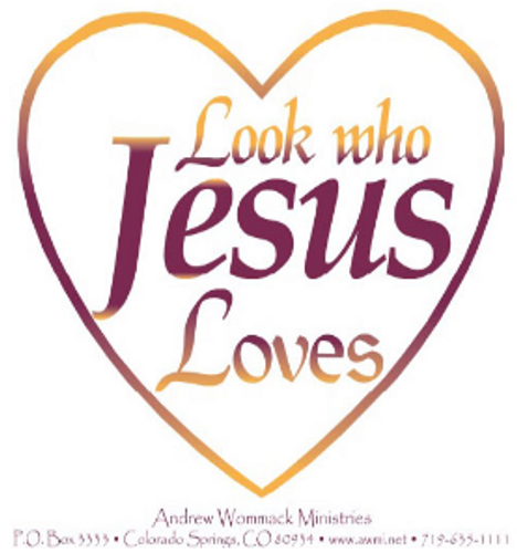 Look Who Jesus Loves - Sticker
