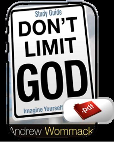 Study Guide E-Book - Don't Limit God (PDF)