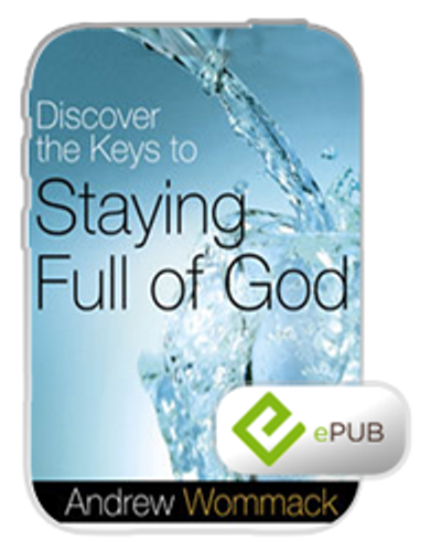 E-Book - Discover the Keys to Staying Full of God (ePub)
