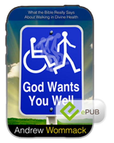 E-Book - God Wants You Well (ePub)