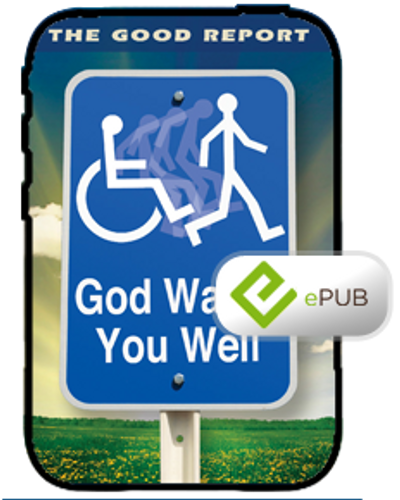 E-Book - God Wants You Well Booklet (ePub)