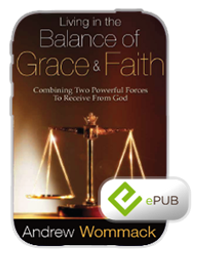 E-Book - Living in the Balance of Grace & Faith (ePub)