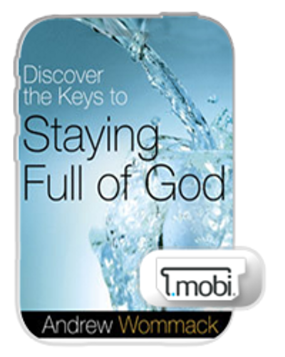 E-Book - Discover the Keys to Staying Full of God (Mobi)