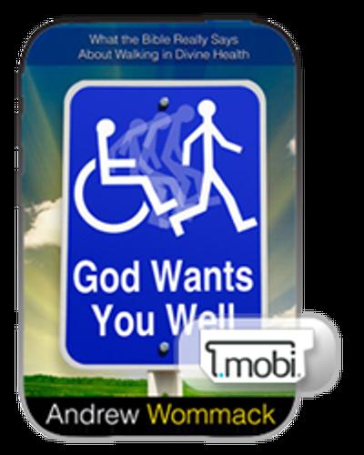 E-Book - God Wants You Well (Mobi)