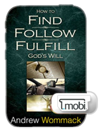 E-Book - How to Find, Follow & Fulfil God's Will (Mobi)