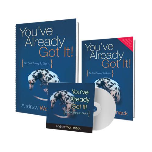You've Already Got It! - CD Package